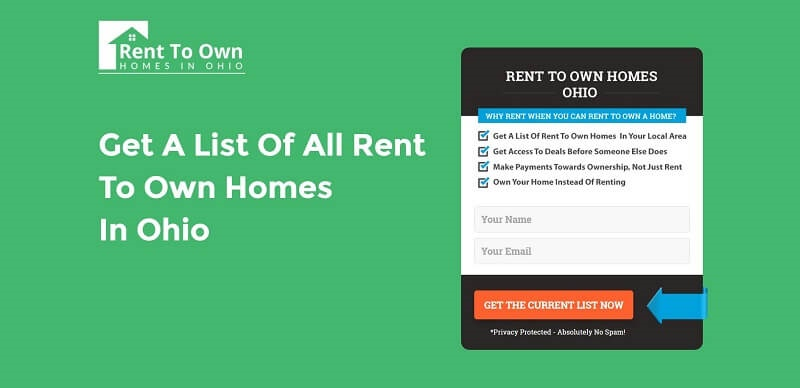 Rent To Own Homes In Ohio