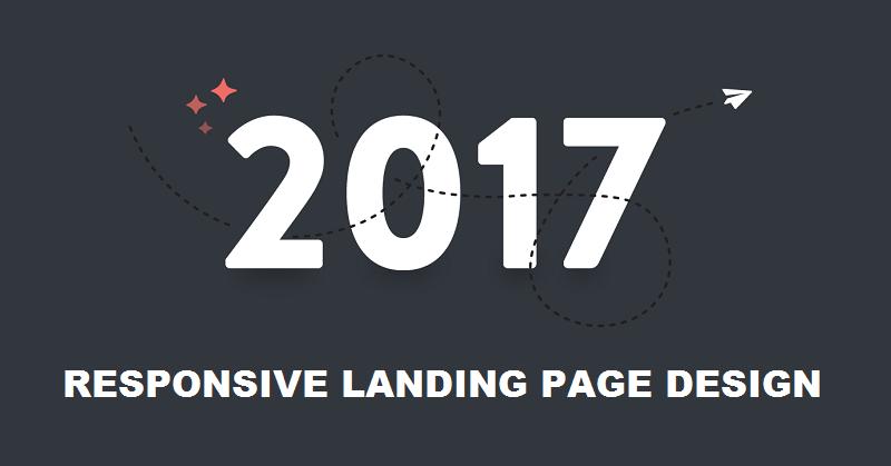 Responsive Landing Page Design 2017