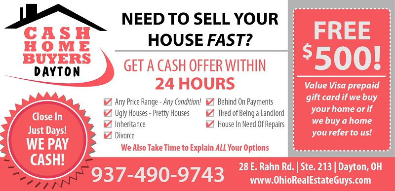 Sell My House Fast Dayton Ohio - Cash For Houses
